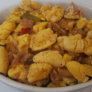 Master's Home Touch Caribbean Cuisine Ackee Salt fish