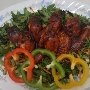 Master's Home Touch Caribbean Cuisine Barbecue CHicken Wings