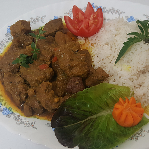 Master's Home Touch Caribbean Cuisine Curry Goat