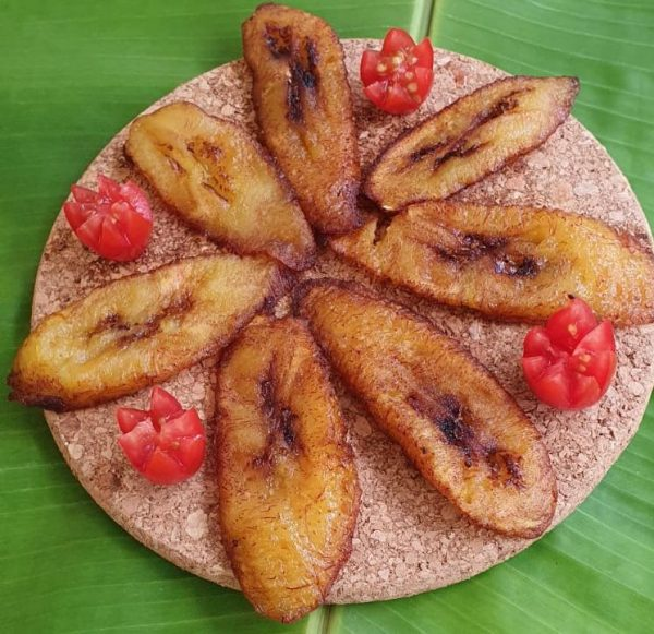 Master's Home Touch Caribbean Cuisine Fried Plantains