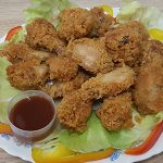 Master's Home Touch Fried chicken plate menu