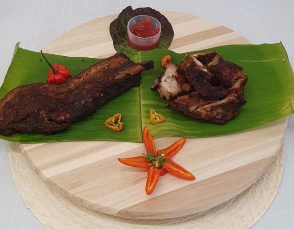 Master's Home Touch Caribbean Cuisine Jerk Pork