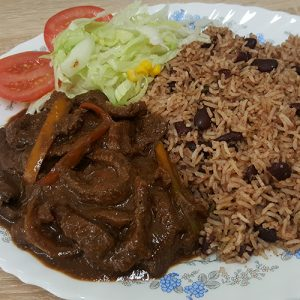 Master's Home Touch Caribbean Cuisine Peppered Steak