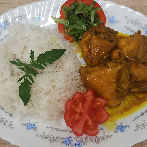 Master's Home Touch Caribbean Cuisine Curry Chicken