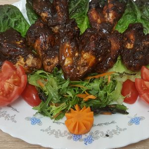 Master's Home Touch Caribbean Cuisine Jerk Wings Chinken