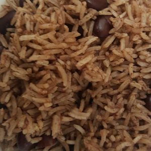 Master's Home Touch Caribbean Cuisine Red Peas Rice & Peas