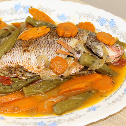 Master's Home Touch Caribbean Cuisine Steam Fish