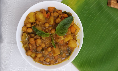 Master's Home Touch Caribbean Cuisine Curry vegetables