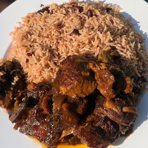 Master's Home Touch Caribbean Cuisine Stew Pork